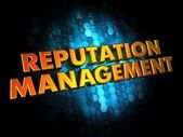 Reputation Management Concept on Digital Background. — Stock Photo