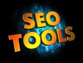 Seo Tools Concept on Digital Background. — Foto de Stock