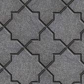 Concrete Decorative Pavement. Seamless Tileable Texture. — Stock Photo
