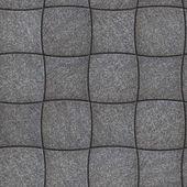 Decorative Paving Slabs. Seamless Tileable Texture. — Stock Photo