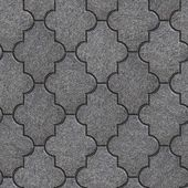 Manufactured Paving Slabs. Seamless Tileable Texture. — Stock Photo