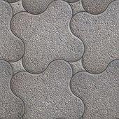 Granular Pavement. Seamless Tileable Texture. — Stock Photo