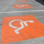 Handicap sign — Stock Photo #13465009
