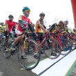 Bike race — Stockfoto