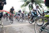 Bike race — Stockfoto