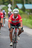 Carrera de bicicletas — Foto de Stock