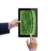 Tablet bilgisayar — Stok fotoğraf