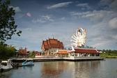 Templo sul tailandês — Foto Stock