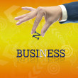 Stock Photo: Business hand