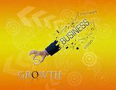 Mano de negocio — Foto de Stock