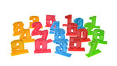Toy number — Stock Photo