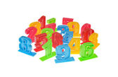 Zabawka numer — Zdjęcie stockowe