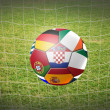 Soccer ball — Foto Stock