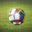 Royalty-Free Stock Photo: Soccer ball