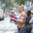 Songkran festival - Stock Photo