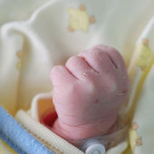 New born infant — Stock Photo