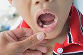 Dental exam — Stock Photo