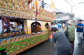 Traditional of buddhist festival - Ngan duan sib — Photo