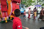 Traditional of buddhist festival - Ngan duan sib — Foto de Stock