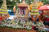 Traditionella buddhistiska festival - ngan duan sib — Stockfoto