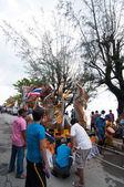 传统的佛教节日 — — 颜段同胞 — 图库照片
