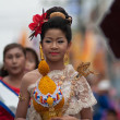 Traditional of buddhist festival - Ngan duan sib — Stock Photo