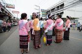 Tradicional do festival budista - ngan duan sib — Fotografia Stock