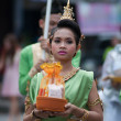 Traditional of buddhist festival - Ngdusib — Stock Photo #36477723