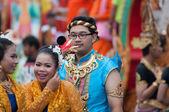 Geleneksel budist festival - ngan duan sib — Stok fotoğraf