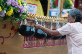 Traditional of buddhist festival - Ngan duan sib — Stockfoto