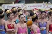 Traditional of buddhist festival - Ngan duan sib — Стоковое фото
