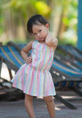 Cute asian kid — Stock fotografie