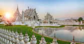 Temple de wat rong khun — Photo
