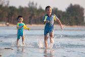 Asiatiska barn — Stockfoto