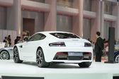 White Aston martin — Stockfoto