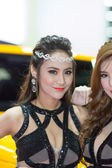 Models at Motor Show — Stock Photo