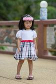 Cute asian dziewczyna — Zdjęcie stockowe
