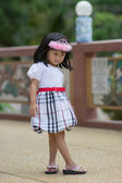 Linda chica asiática — Foto de Stock