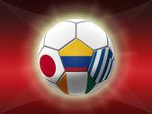 サッカー選手権 2014 — ストック写真