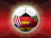 Soccer Championship 2014 — Stock Photo