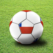 Fotboll konstverk för mästerskapet — Stockfoto