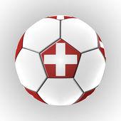 Ilustraciones de fútbol por el campeonato — Foto de Stock