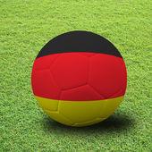 Soccer artwork — Stock Photo