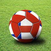 Soccer artwork — Stock Photo