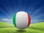 Futebol — Fotografia Stock