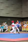 Campeonato de Taekwondo — Foto de Stock