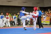 Taekwondo championship — Stock Photo