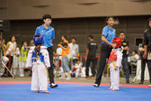 跆拳道冠军 — 图库照片