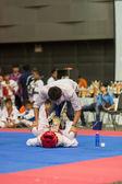 Taekwondo championship — Foto Stock