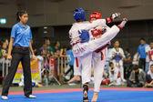 Taekwondo championship — Zdjęcie stockowe